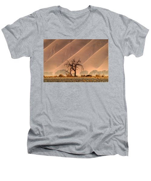 Wave Tree Men's V-Neck T-Shirt