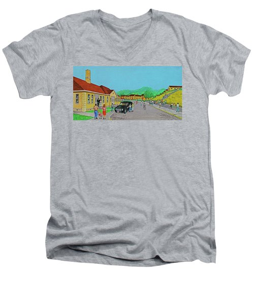 Wayne Hills 1948 Men's V-Neck T-Shirt