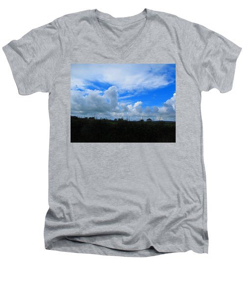Welsh Sky Men's V-Neck T-Shirt