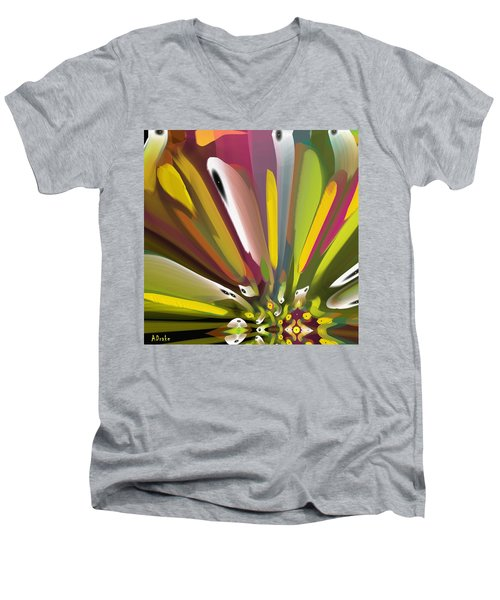 When Spring Turns To Fall Men's V-Neck T-Shirt