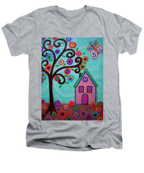 Whimsyland Men's V-Neck T-Shirt