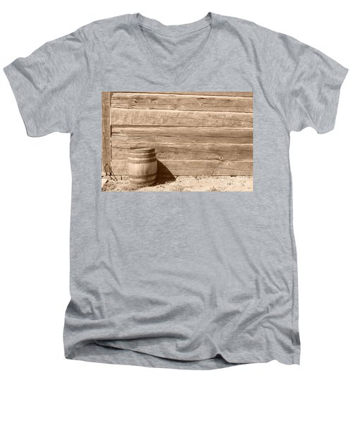 Men's V-Neck T-Shirt featuring the photograph Wild West by Joe  Ng