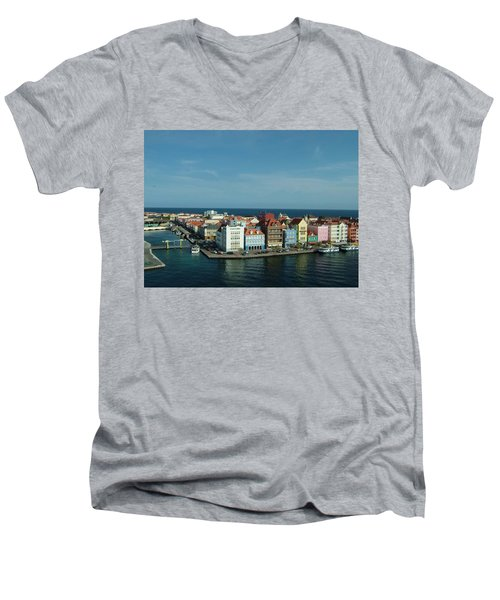 Willemstad Curacao Men's V-Neck T-Shirt