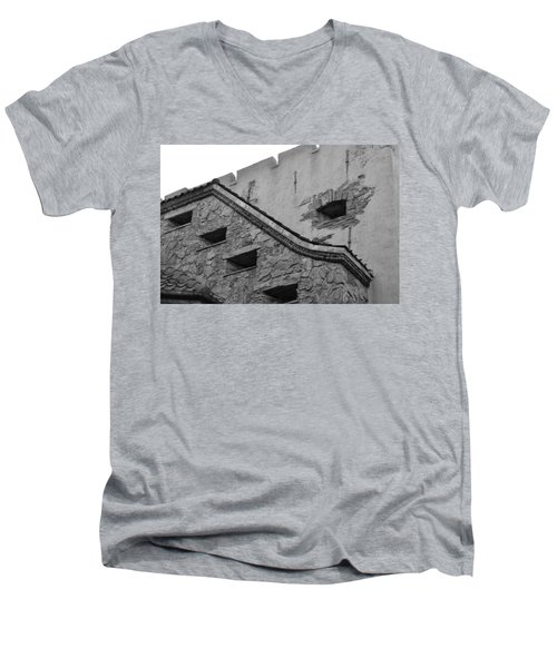 Windowed Wall Men's V-Neck T-Shirt