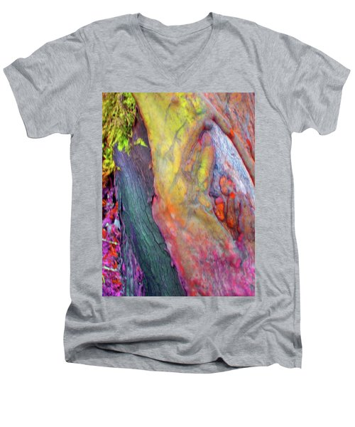 Men's V-Neck T-Shirt featuring the digital art Winning Ticket by Richard Laeton