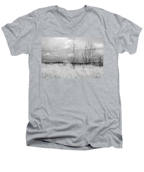 Winter Bare Men's V-Neck T-Shirt