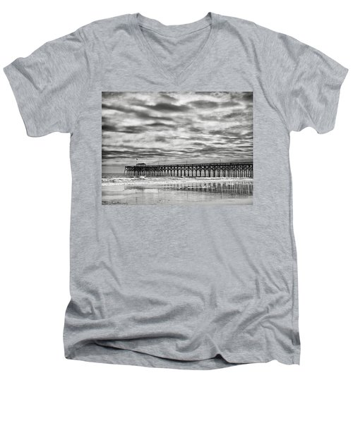 Winter Storm Men's V-Neck T-Shirt