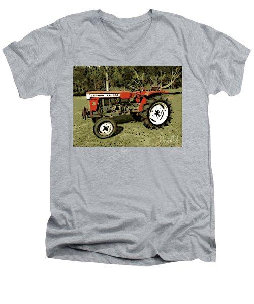 Yanmar Men's V-Neck T-Shirt