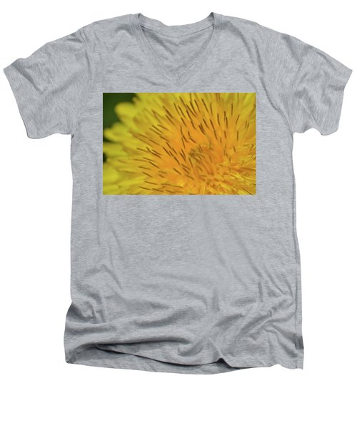 Men's V-Neck T-Shirt featuring the photograph Yellow Beauty by JD Grimes