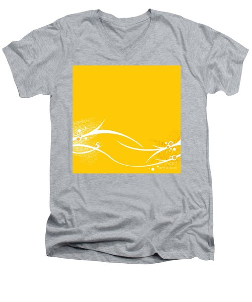 Yellow Twigs Men's V-Neck T-Shirt