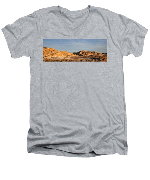 Men's V-Neck T-Shirt featuring the photograph Ziebriski Point by Hugh Smith