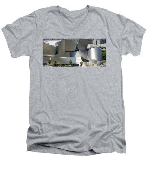 @ Disney Hall, Los Angeles Men's V-Neck T-Shirt