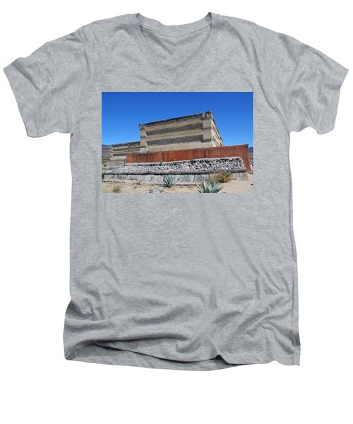 @ Mitla Oaxaca Mexico Men's V-Neck T-Shirt