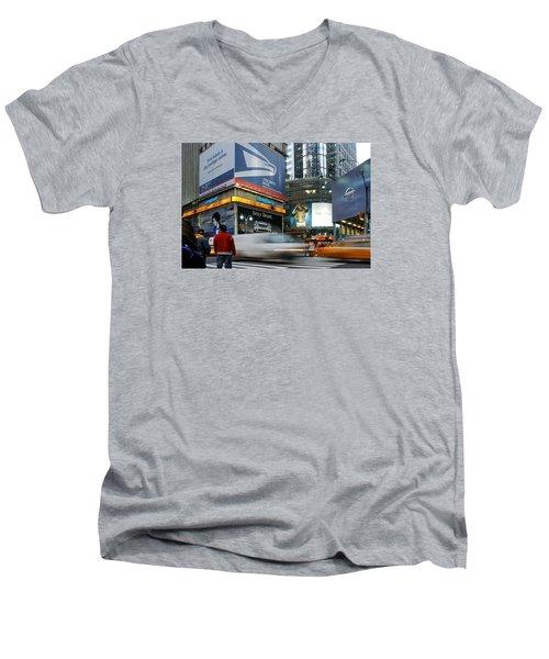 -money Sex And Speed Men's V-Neck T-Shirt