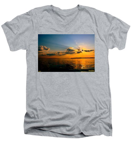 Perfect Ending To A Perfect Day Men's V-Neck T-Shirt