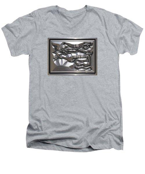 ' Light Rays Through Dark Passages ' Men's V-Neck T-Shirt