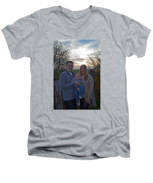 004 Men's V-Neck T-Shirt