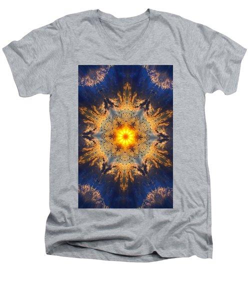 006 Men's V-Neck T-Shirt by Phil Koch