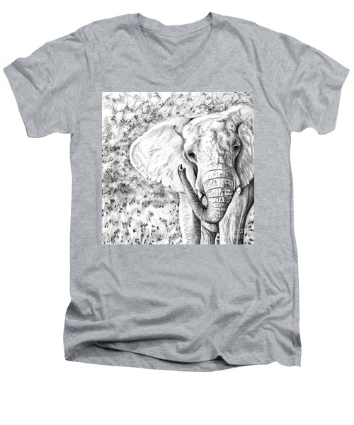 01 Of 30 Elephant Men's V-Neck T-Shirt