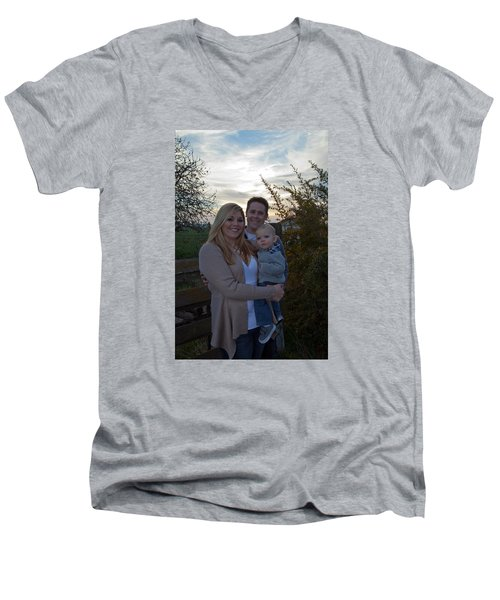011 Men's V-Neck T-Shirt
