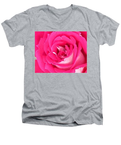 Bara Means Rose Men's V-Neck T-Shirt