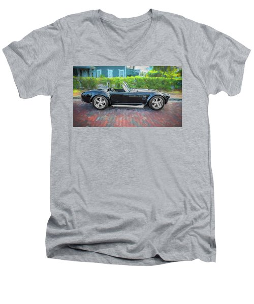 1965 Ford Ac Cobra Painted    Men's V-Neck T-Shirt