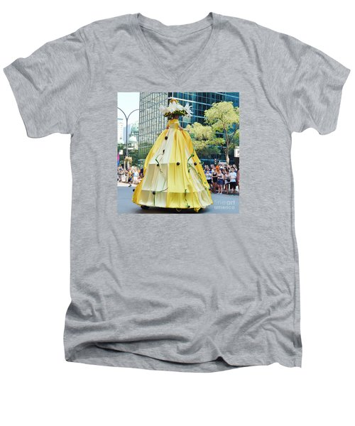 2015 Montreal Lgbta Parade  Men's V-Neck T-Shirt