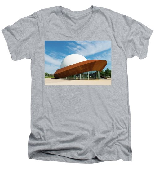 3d Theater Men's V-Neck T-Shirt by Hans Engbers
