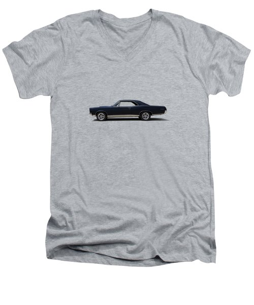 67 Gto Men's V-Neck T-Shirt by Douglas Pittman