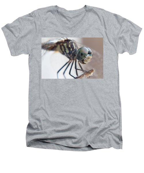 A Closer Look Men's V-Neck T-Shirt