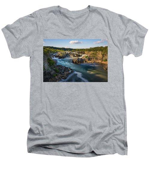 A Day In The Life Of A River Men's V-Neck T-Shirt