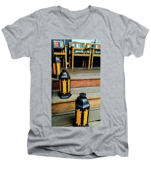 A Wonderful Place To Sit And Read Men's V-Neck T-Shirt