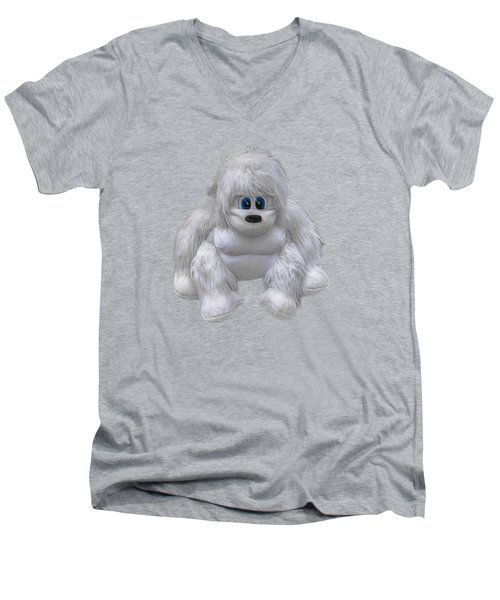 Abominable Men's V-Neck T-Shirt by John Haldane