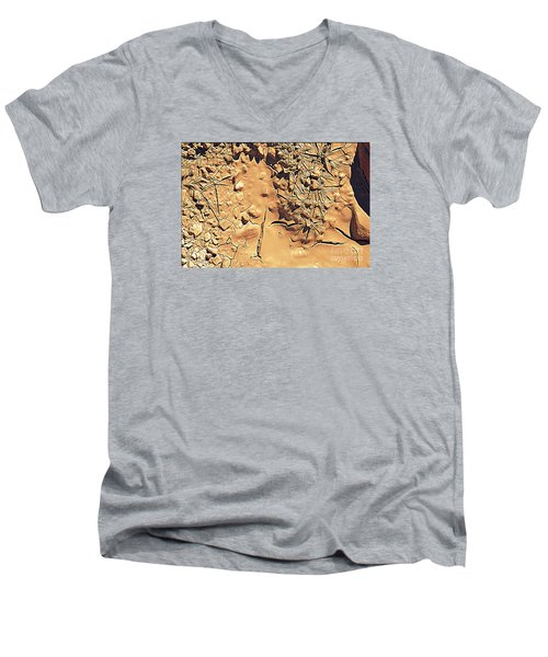 Abstract 4 Men's V-Neck T-Shirt