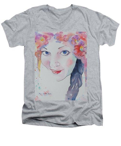 Alisha Men's V-Neck T-Shirt
