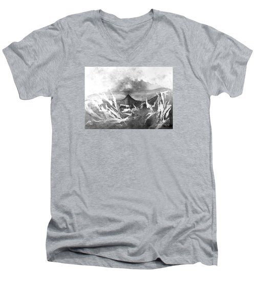 All Is Whale Men's V-Neck T-Shirt