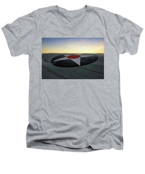 American Morning Men's V-Neck T-Shirt