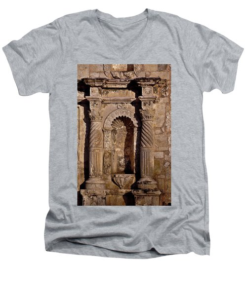 Architectural Detail Men's V-Neck T-Shirt