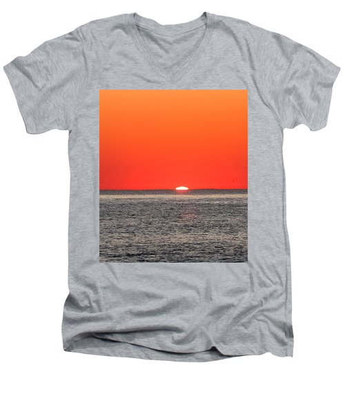 Atlantic Sunrise Men's V-Neck T-Shirt