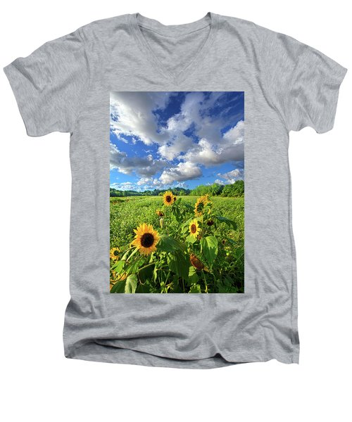 Autumn Is Near Men's V-Neck T-Shirt