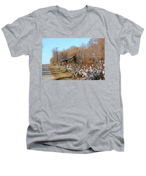 Back Roads Of Ms Men's V-Neck T-Shirt