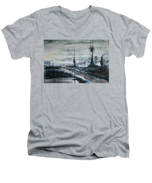Back To Life Men's V-Neck T-Shirt