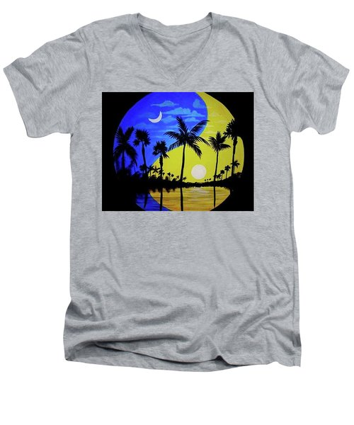 Badmoon Men's V-Neck T-Shirt