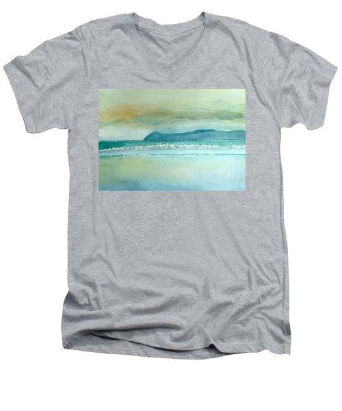 Baile 'n Sceilg Tra Men's V-Neck T-Shirt