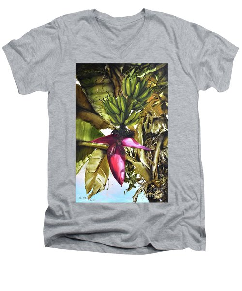 Banana Tree Men's V-Neck T-Shirt