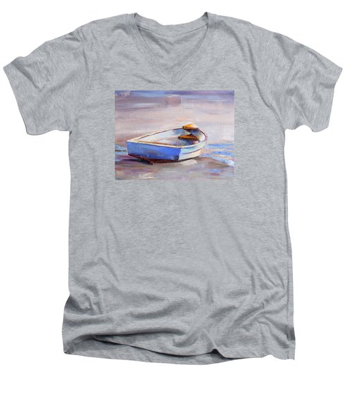 Beach Puddles Men's V-Neck T-Shirt