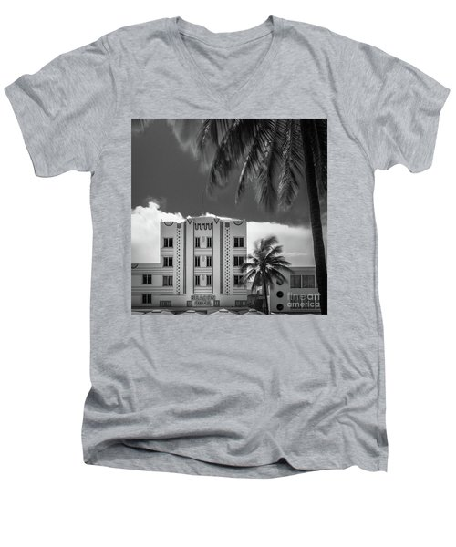 Beacon Hotel Miami Men's V-Neck T-Shirt