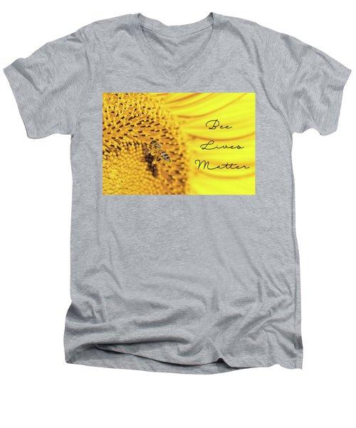 Bee Lives Matter Men's V-Neck T-Shirt