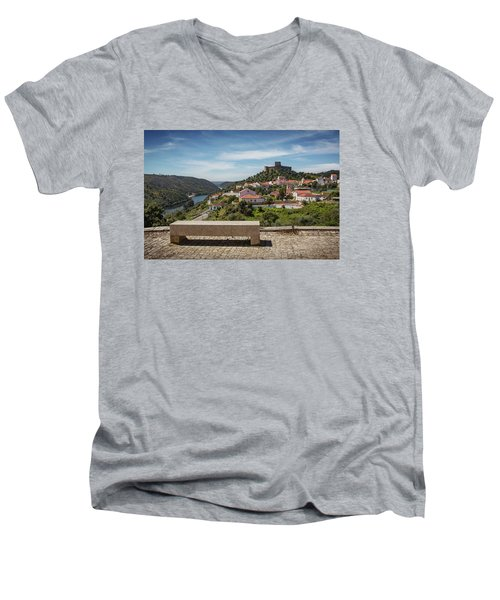 Men's V-Neck T-Shirt featuring the photograph Belver Landscape by Carlos Caetano