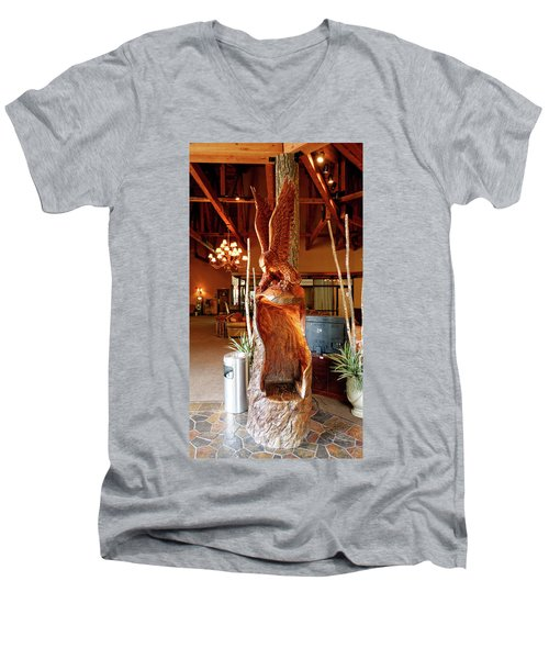 Big Bird Men's V-Neck T-Shirt